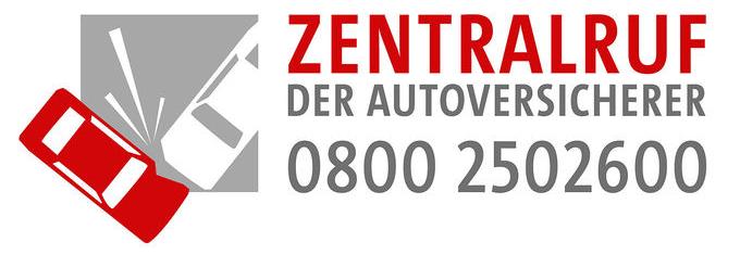 Zentralruf der Autoversicherer • 0800 2502600